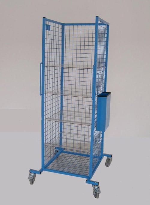 Table servante pour transport de pièces machines, logistique, manutention, Rolls rapides