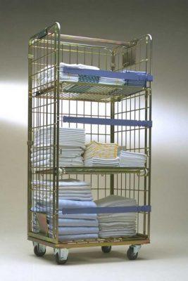 Roll a linge, roll conteneur pour textile, blanchisserie, grande distribution, logistique, industrie, tertiaire, roll r118, rolls rapides